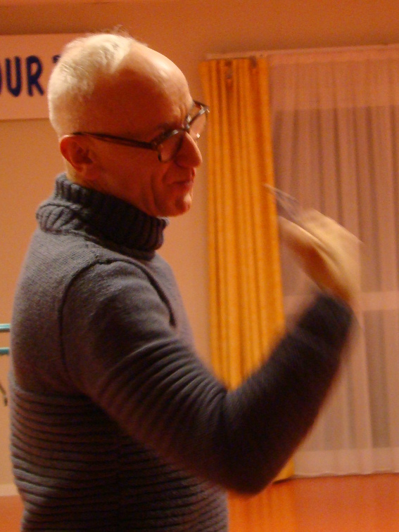 Thierry Pichereau - animateur des ateliers théâtre