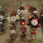 Chouettes pendentifs - Création Atelier Travaux manuels enfants
