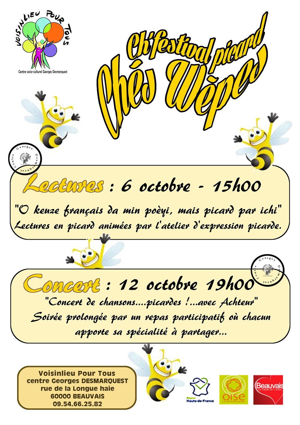 Affiche Chés Wèpes