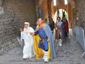 1066 embarquement de Guillaume le Conquérant - Photographie de Daniel Bellettre. Reportage à Saint-Valery sur Somme, en juillet 2018.