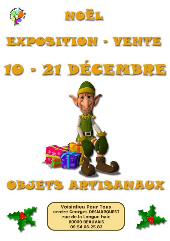 affiche-expo-vente-Noël-2018
