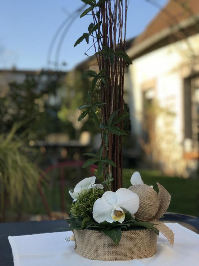 Projet de création de l'atelier art floral de février 2019